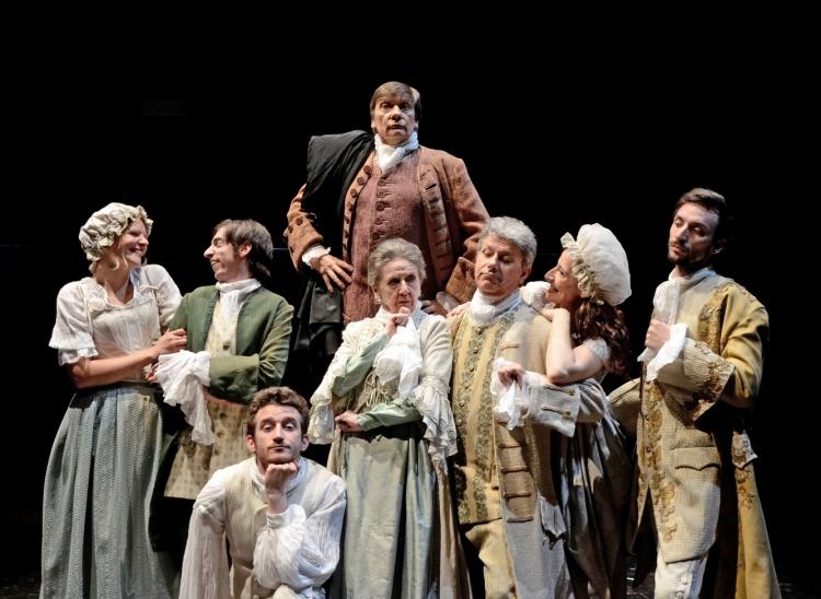 Teatro Arsenale Milano arte, LA BANCAROTTA, Carlo Goldoni, regia di Marina Spreafico
